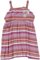 Design History Dress (Toddler/Kids) - Tickled Pink Stripe Floral-4