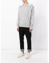 Maison Margiela oversize hooded sweatshirt