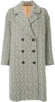 CITYSHOP tweed long coat