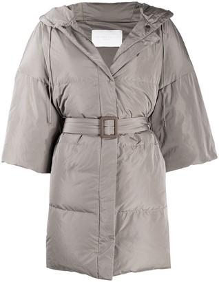 Fabiana Filippi Padded Mid-Length Coat