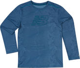 New Balance Long-Sleeve Printed Performance Tee - Preschool Boys 4-7