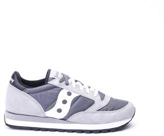 Saucony Jazz Original Nylon And Suede Sneakers