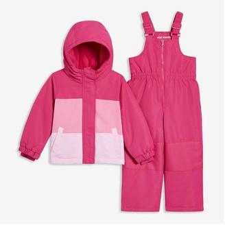 Joe Fresh Toddler Girls' 2-Piece Snow Suit, Dark Fuchsia (Size 5)