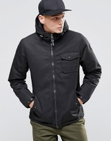 Element Freemont Parka Black Quilted Lining