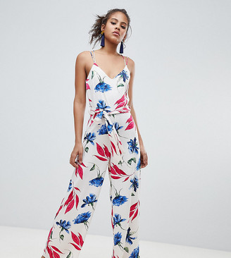 Y.A.S Tall Bold Floral Wideleg Jumpsuit