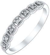 Milgrain Diamond Band ShopStyle UK