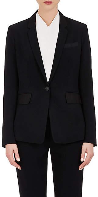 Rag & Bone Women's Windsor Crepe Blazer - Black