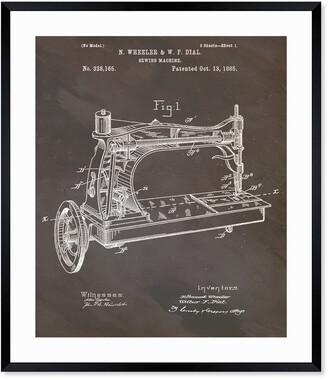 Oliver Gal Sewing Machine, 1885