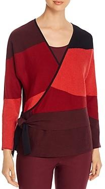 Nic+Zoe Faux-Wrap Sweater