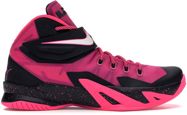 hot sale online 0faa9 0ecf5 Zoom LeBron Soldier 8 Think Pink