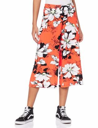 Trigema Women's Culotte Pant Red (Grenadine 235) Large