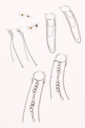 Free People Chain Reaction Earring Set