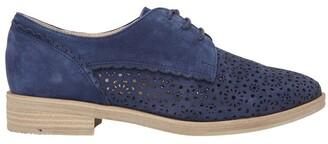 Easy Steps Nero Navy Nubuck Flat Shoe