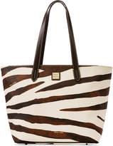 Dooney & Bourke Serengeti Zip-Top Medium Shopper