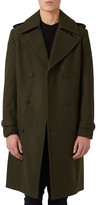 Topman Men's Longline Trench Coat