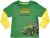 John Deere Green Little Farmer Layered Tee - Toddler