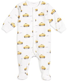 FIRSTS BY PETIT LEM Firsts by petite lem Unisex Taxi Print Footie - Baby