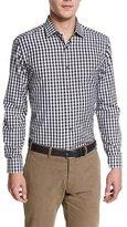 Robert Graham Ralph Long-Sleeve Plaid Woven Shirt, Black