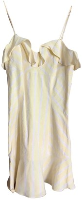Intermix Yellow Linen Dress for Women