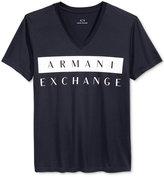 Armani Exchange Men's Foundation Colorblock Logo T-Shirt