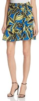 Moschino Printed Faux-Wrap Skirt