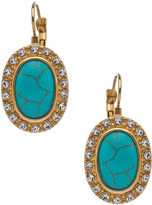 Gottex Island Suite Tailored Cabochon Earrings