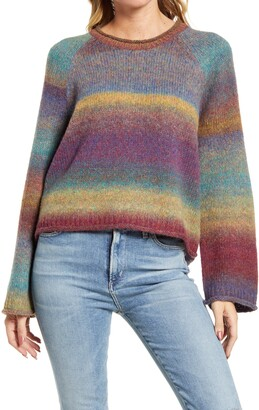 Madewell Dodworth Space Dye Sweater