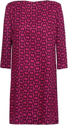 Milly Printed Twill Mini Dress