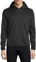 Theory Ormond Long-Sleeve Hooded Sweatshirt, Black