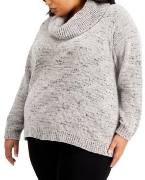 Calvin Klein Size Cowlneck Sweater