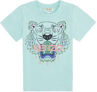 Kenzo Kids Cotton Crew-neck T-shirt