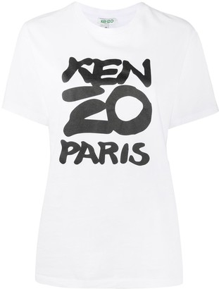 Kenzo graphic logo-print T-shirt