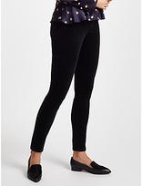 Marc Cain Velvet Skinny Jeans, Black