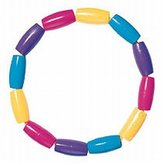 The First Years The First Year's Soft Teething Beads Assorted Colors (6 Pack)