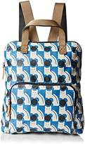Orla Kiely Poppy Cat Print Tote Backpack