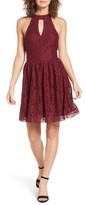 Speechless Women's Gigi Lace Fit & Flare Dress