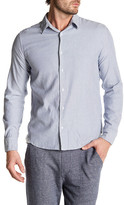 Save Khaki Simple Oxford Long Sleeve Classic Fit Shirt