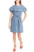 J.Crew Petite Women's Edie Chambray Dress
