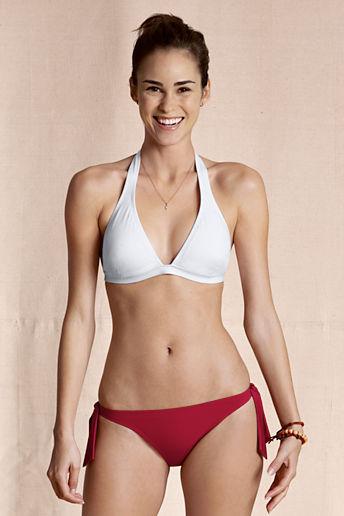 Lands' End Women's Halter Bikini Top
