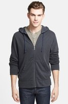 James Perse Vintage Cotton Fleece Hoodie