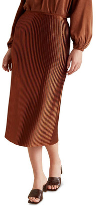 Seed Heritage Pleated Column Skirt