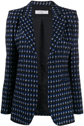 Victoria Beckham Knitted Single-Breasted Blazer