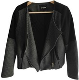 Suncoo Grey Cotton Jacket for Women