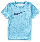 Nike Little Boys 4-7 Blacktop Speckled Print Short-Sleeve Tee