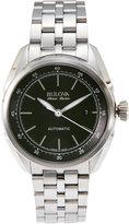 bulova accu-swiss 63B193 Silver-Tone Watch