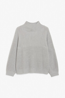 Monki Vertical knit sweater