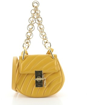 Chloé Drew Bijou Crossbody Bag Quilted Leather Mini