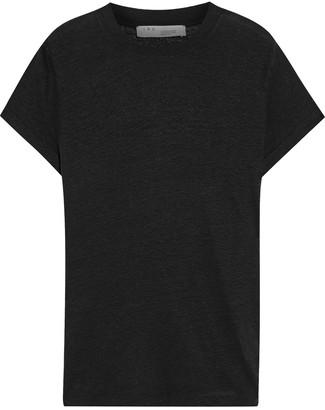 IRO Third Slub Linen-jersey T-shirt