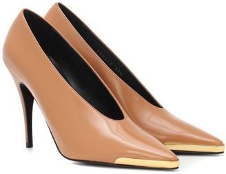 Stella McCartney Faux patent leather pumps
