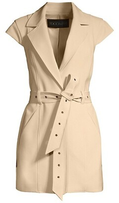 Toccin Sleeveless Belted Jacket
